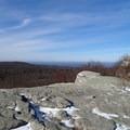 View along Loop Road.- Shawangunk Ridge Trail: Sam's Point Section