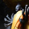 Statue of Vishnu, a Hindu god.- Angkor Wat