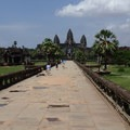 Inner causeway of the west gate.- Angkor Wat