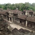 View looking north from one of the towers.- Angkor Wat