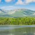 Mount Katahdin.- South Turner Mountain via Sandy Stream Pond