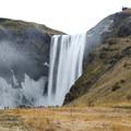 Iceland's Skógafoss.- Skógafoss Waterfall