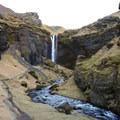 Kvernufoss.- Kvernufoss (Sigurfoss) Waterfall