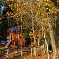 The park playground.- Old Atlanta Park Nature Trail
