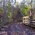 You will encounter a handful of these wooden bridges.- Old Atlanta Park Nature Trail