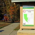 Welcome to Old Atlanta Park, the trail map shown here.- Old Atlanta Park Nature Trail