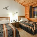 The hotel's Standard Rooms have twin beds, which can be pushed together upon request.- Hotel Rangá