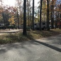 The center section of Gulpha Campground. - Gulpha Gorge Campground