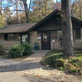 The campground registration station is an automated unmanned system that uses charge or debit cards.- Gulpha Gorge Campground
