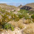 Early view of Hot Springs Canyon along the trail. - Hot Springs Canyon Rim Trail