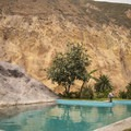 At the hostel, enjoy the swimming pool to start the last day of trekking right.- Colca Canyon