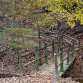 A nature trail encircles the campground.- Gee Campground
