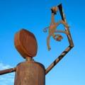 Jael Hoffmann's Olancha Sculpture Garden.- Olancha Sculpture Garden