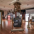 The museum includes from interactive displays, to recreations of structures and hardware, films, and displays providing information about the Japanese detention centers of the era.- Manzanar National Historic Site