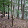 One of the better riverside sites due it its privacy.- Horse Cove Campground