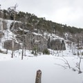 A second beaver habitat.- Poke-O-Moonshine Snowshoe