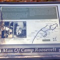 The campground map overlaying the original Civilian Conservation Corps camp.- Camp Roosevelt Campground