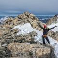 The summit of Tête Blanche.- Tête Blanche
