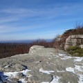 The view over Minnewaska State Park from Loop Road.- Sam's Point Loop