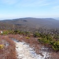 The view from Verkeerder Falls Trail.- Sam's Point Loop