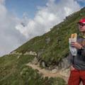The approach to Aiguille du Tour.- Aiguille du Tour, East Face