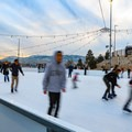 The Ice Rink at the Grand Sierra Resort offers ice skating to the public daily during the Winter season.- Ice Rink at the Grand Sierra Resort