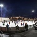 The 8,000 square-foot ice rink is ideal for families and provides lots of space for beginners.- Ice Rink at the Grand Sierra Resort