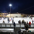 The Ice Rink at the Grand Sierra Resort.- Ice Rink at the Grand Sierra Resort