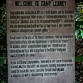 Welcome to Camp Leakey.- Camp Leakey