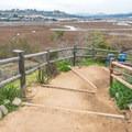 The view from Annie's Canyon  trailhead.- Annie's Canyon Trail via North Rios Trail