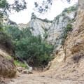 The entrance into the canyon on Annie's Canyon Trail.- Annie's Canyon Trail via North Rios Trail