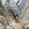 Annie's Canyon Trail is well-marked.- Annie's Canyon Trail via North Rios Trail