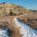 Incredible landscape stepping off on the Caprock Coulee Trail.- Caprock Coulee Trail