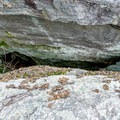 Deep crevices separate the tables.- Bonticou Crag and Table Rocks