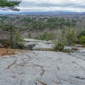 Table Rocks overlooking the Catskills.- Bonticou Crag and Table Rocks