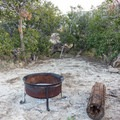 Campfires are only permitted in metal containers.- Culp Valley Primitive Campground