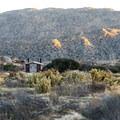 Restrooms at Culp Valley Primitive Campground.- Culp Valley Primitive Campground