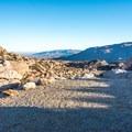 A scenic overlook at Culp Valley.- Culp Valley Loop