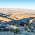 The view from another scenic overlook at Culp Valley.- Culp Valley Loop