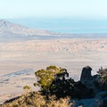 On a clear day the view stretches all the way to the Salton Sea.- Culp Valley Loop