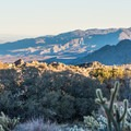 Culp Valley features panoramic views of Anza-Borrego Desert State Park.- Culp Valley Loop