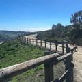 A nice trail near a residential area.- Colinas Ridge Trail