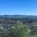 The view toward the San Juan Capistrano hills.- Colinas Ridge Trail
