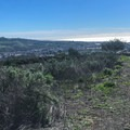 Ocean views over the Pacific.- Colinas Ridge Trail