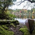 Our canoe was rented from the nearby Tupper Lake.- Little Tupper Lake Canoe Camp