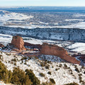 Red Rocks, Denver, and the great plains in all their glory.- Mount Morrison