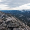 Looking south from either summit.- Twin Sisters Peak