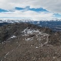 The view from the east peak.- Twin Sisters Peak