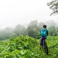 Jungle mountain biking on Volcan de Agua, Guatemala (El Zur).- Woman In The Wild: Brittany Greer