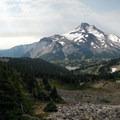 Mount Jefferson (10,495') from Jefferson Ridge.- Instagram of the Week - May 8